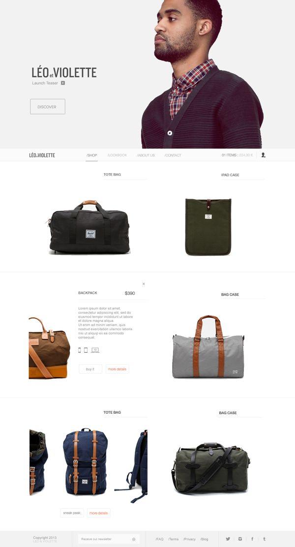 Leo & Violette on Web Design Served