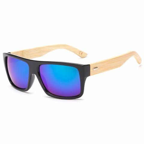 Designer Wooden Sunglasses - Big Star Trading - 1