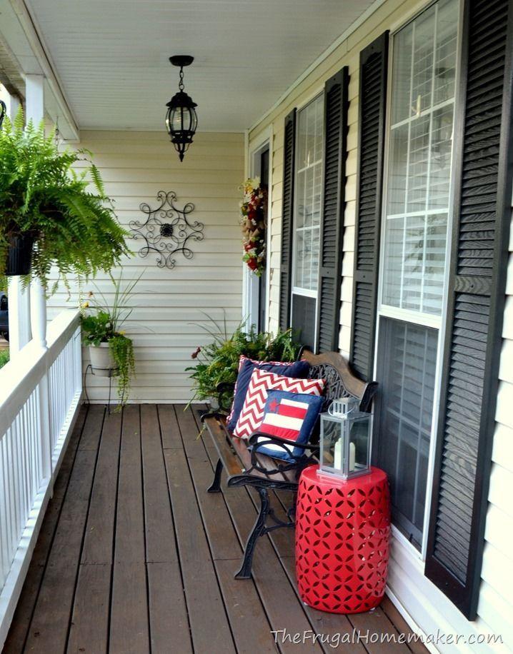 Decorar porche decora la terraza con macetas decorar el - Decorar un porche ...