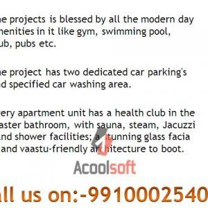 Omaxe Forest Spa Sector-93b Noida call 9910002540