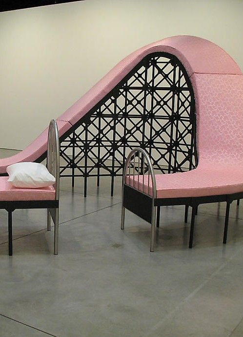 La Montaña Rusa (Roller Coaster Bed) a piece of creative