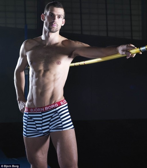 Robbie Grabarz Team GB High Jumper. Bronze.