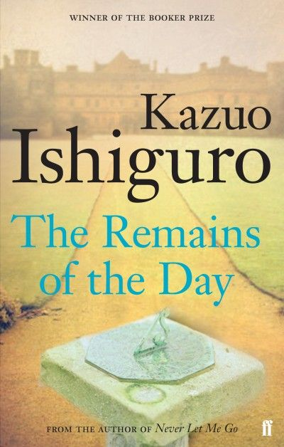 The Remains of the Day - LOVED this book!!