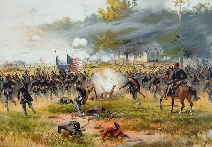 The troops fought near Maryland, Antietam creek.It was know as one of the bloodiest battles in American History.The day ended by President Lincoln issued the Emancipation.
