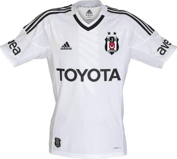 Besiktas Home Kit 2012/13 Adidas
