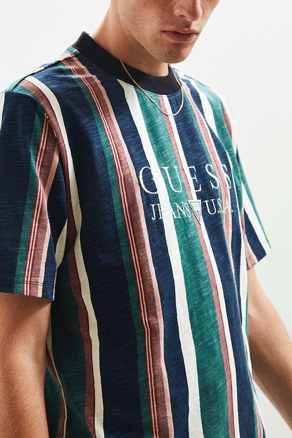 Guess 81 Sayer Stripe Tee Stylishkiddo Pinterest