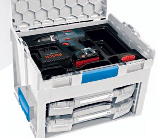 Sortimo L-Boxx with Drawers Organizers