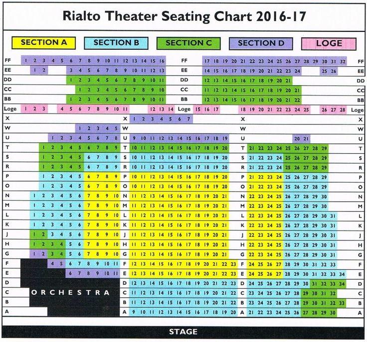 The Brilliant As Well As Attractive Rialto Theatre