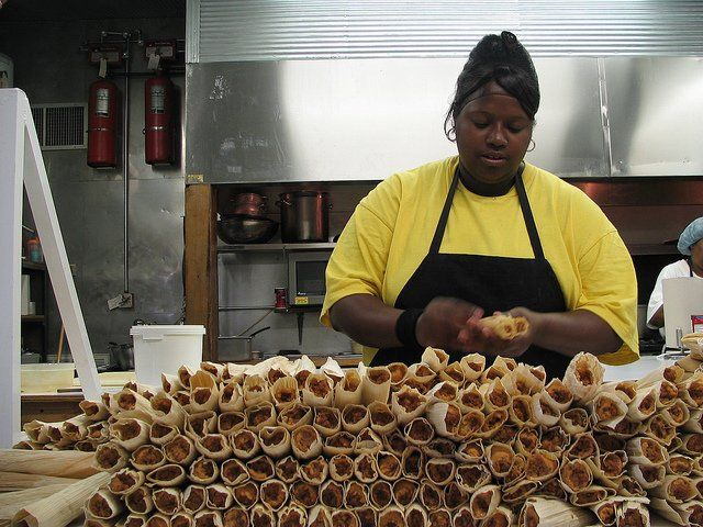 The history of the hot tamale in this area reaches back to at least the early part of the twentieth century.