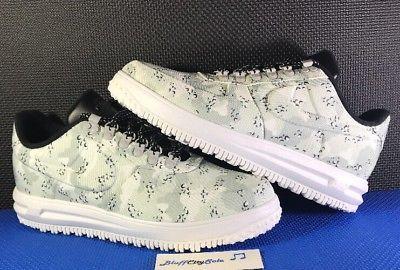 best sneakers 539ad 33867 Nike LF1 Lunar Air Force 1 Duckboot Low Grey Winter Camo ...