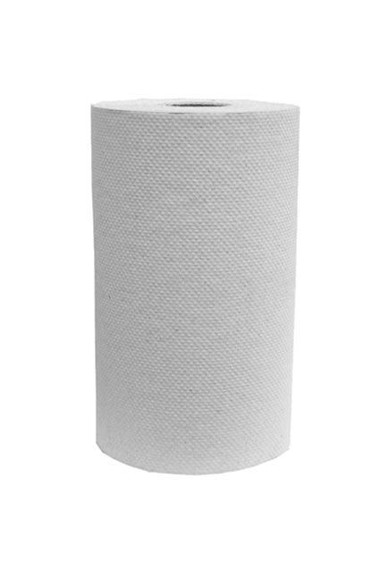 Decor, 205' White roll paper towell: 24 rolls of 205', White roll paper towell