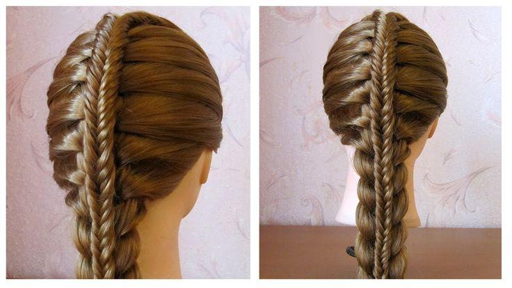 Coiffure avec tresse Tuto coiffure pour tous les jours, facile à faire