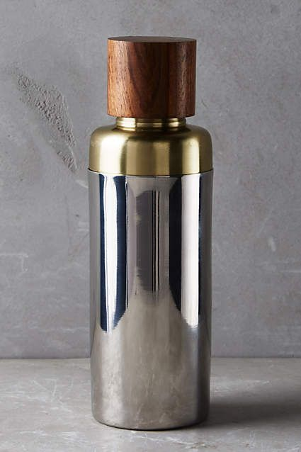 Woodnote Cocktail Shaker - anthropologie.com