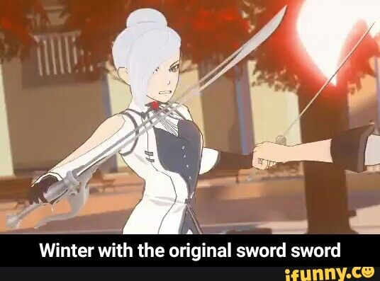 Y'all seem to be ragging on Jaune because of the sword sword but let's not forget who inspired him, probably.