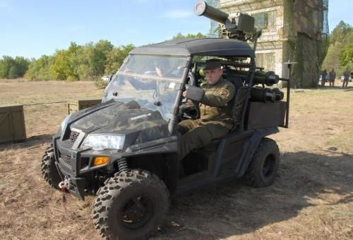 У Национальной Гвардии появятся противотанковые квадроциклы. Фото: Авто новости…