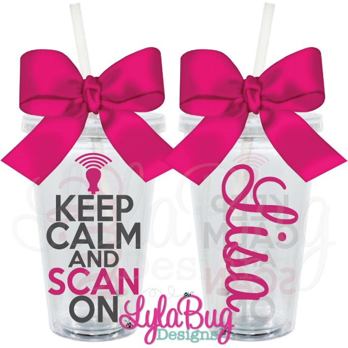 The 96 best ultrasound images on pinterest ultrasound radiology ultrasound tech keep calm scan on personalized acrylic tumbler lylabug designs negle Images