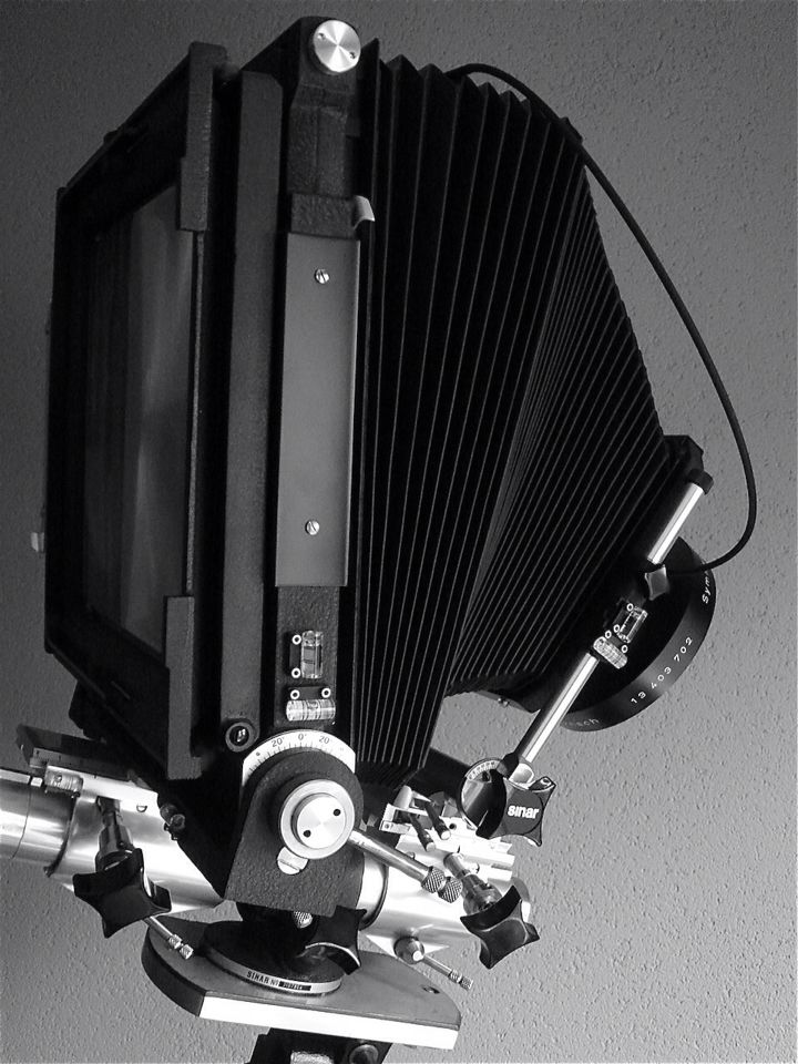 8X10 / 18X24 Sinar Norma technical camera with 360mm f6,8 Rodenstock Sinorar N.