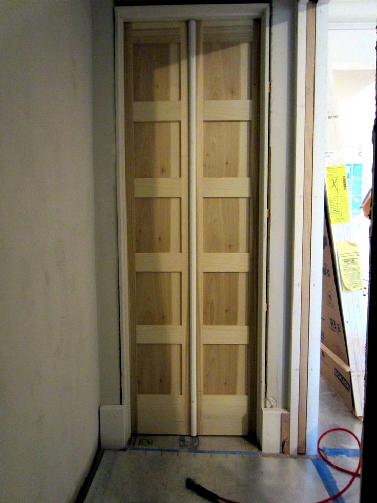 Narrow French Closet Doors