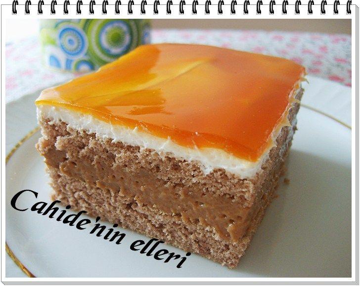 karamelli pasta dilimi