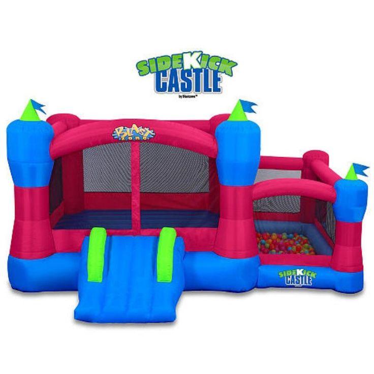 Blast Zone Sidekick Bounce House Ball Pit Slide and Hoop - INF-SIDEKICK