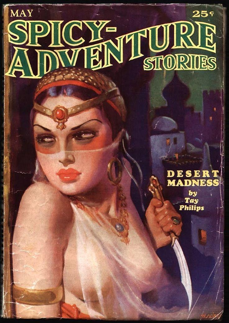 Golden Age Comic Book Stories, Spicy Pulps,   1935 ~ 1938, Cover art by Hugh Joseph Ward ~ Harry Lemon Parkhurst, Norman Saunders