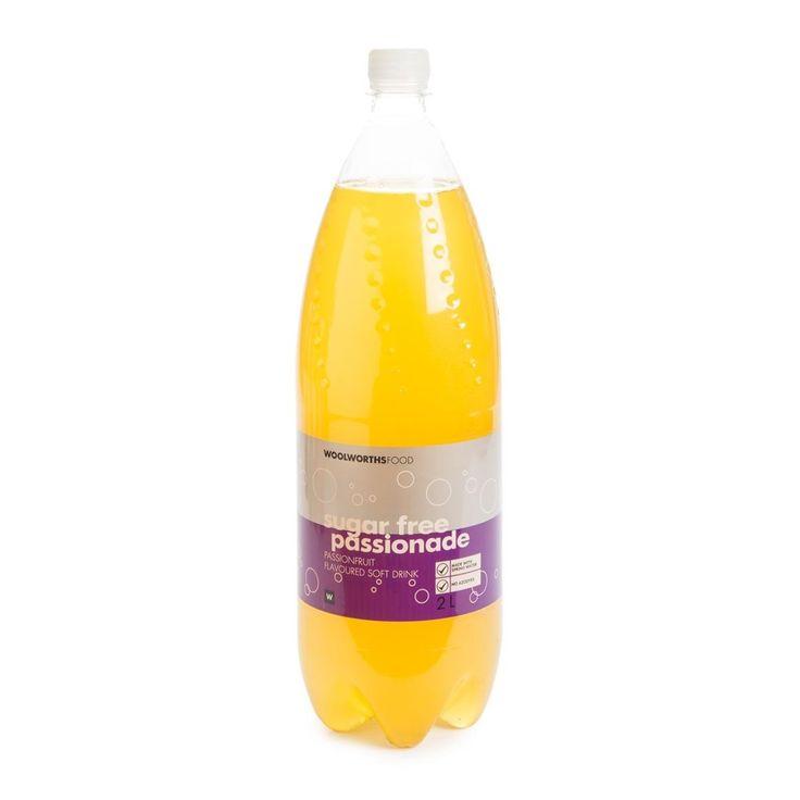 Passionade Sugar Free Soft Drink 2L