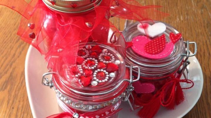 Les 194 meilleures images propos de pot mason sur - Pinterest st valentin bricolage ...