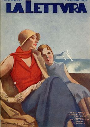 23 coppia di donne sedute sfondo mare