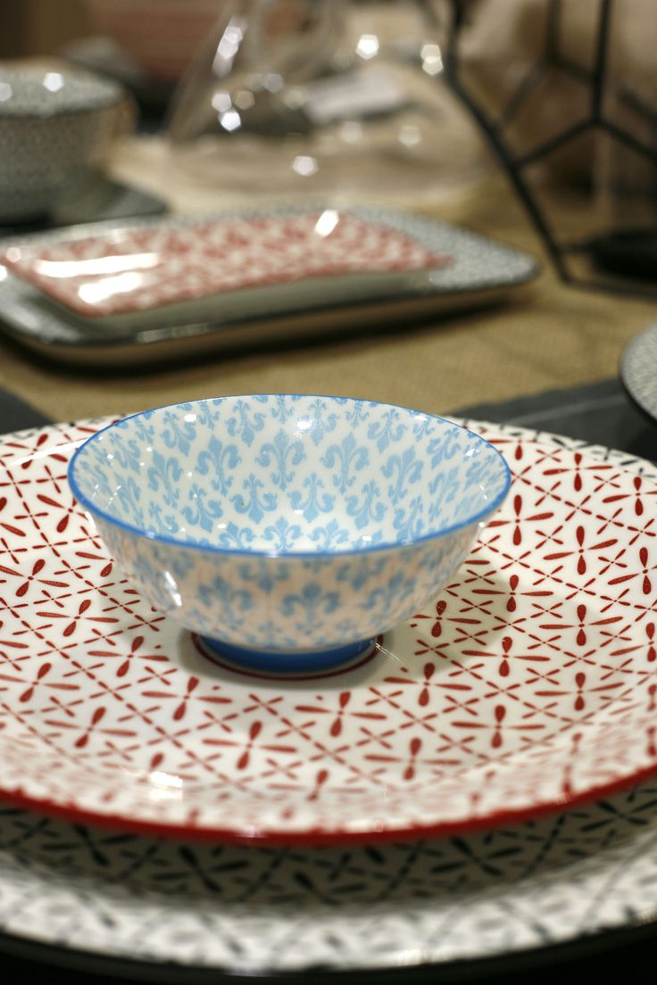 Boho Dinnerware... New trrend Plates.. Discover more at www.espiel.gr