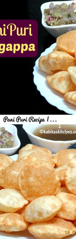 Pani Puri Recipe | Golgappa Recipe | Puchka | Puri recipe for PaniPuri or Golgappa | kabitaskitchen... Tags: how to make perfect pani puri, perfect gogappa recipe, best pani puri recipe, puchka, golgappa recipe, pani puri recipe video in hindi, puchka recipe, pani puri water recipe, calcutta style puchkas recipe, puchka recipe in bengali, recipe for making puchka, gupchup recipe in hindi or, gupchup recipe video, how to make golgappa, pani poori, fulki recipe, kabitas pani puri recipe…