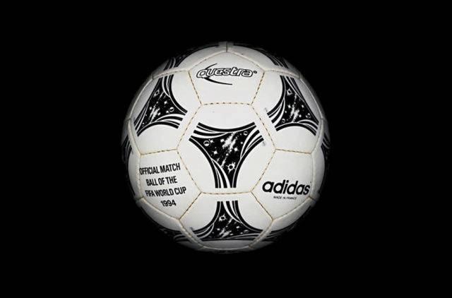 Balón utilizado durante el mundial de fútbol Estados Unidos 1994