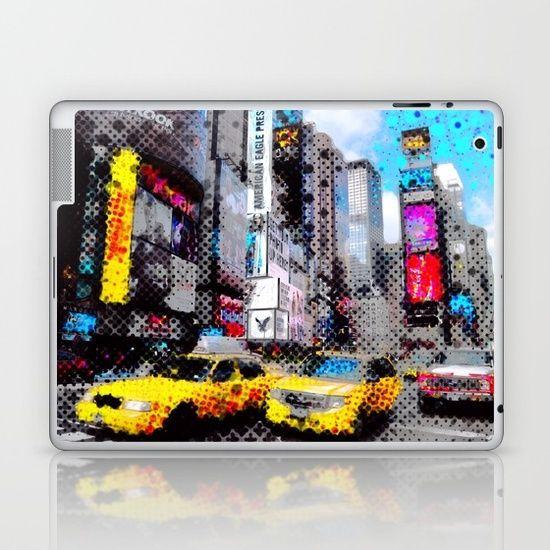 New York Pop Art Laptop & iPad Skin