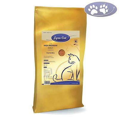 1 x 10 kg Lyra Cat Adult Fisch & Reis Katzenfutter für ausgewachsene Katzensparen25.com , sparen25.de , sparen25.info
