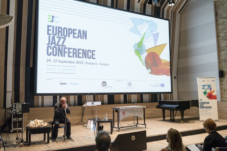 https://flic.kr/s/aHskmGCv8N | Day 1 - European Jazz Conference 2015 | Photos (C) Balint Hrotko  24 September 2015 at the Budapest Music Center.