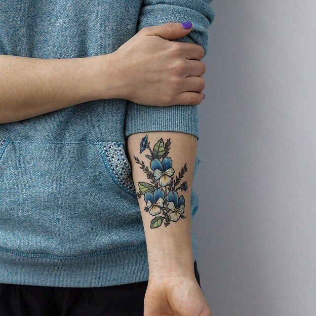 70 Perfect Tattoos That Every Woman Can Pull Off: Best 25+ Pansy Tattoo Ideas On Pinterest