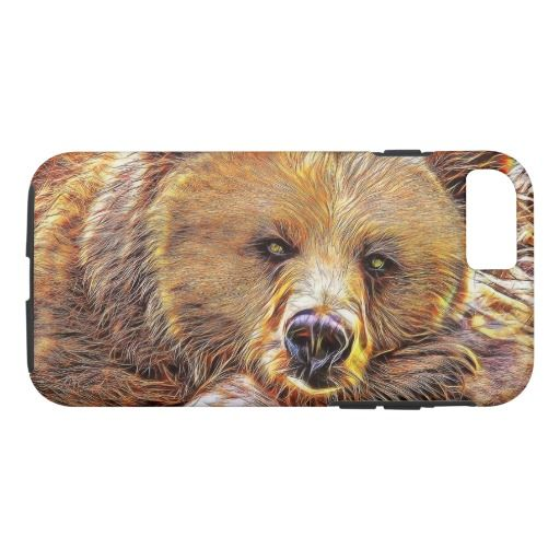 Brown Bear iPhone 7 Case