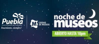 Noche de Museos Verano 2012 Puebla.
