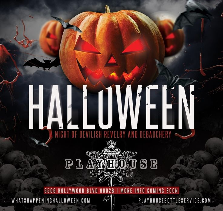Playhouse Nightclub Halloween 2017 | Check out Playhouse Hollywood Halloween Weekend in Los Angeles on October 28, 2017 and get detailed info for the event - tickets, photos, video and reviews.