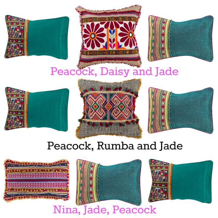 Perfect way to see the cushions together what are your favourites? #bohocushions #moroccancushions