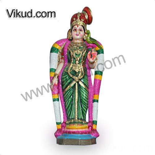Sri Andal-Paper Mache Navarathri Golu Doll