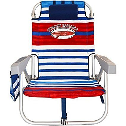 Tommy Bahama Backpack Cooler Chair With Storage Pouch And Towel Bar Review