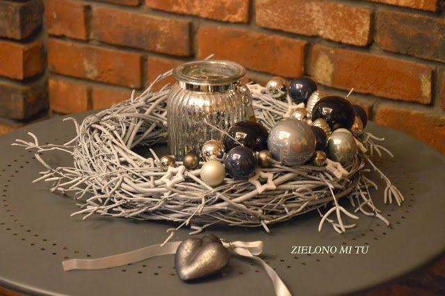 ZIELONO MI TU...: Dekoracje świąteczne - CHRISTMAS DECORATIONS DIY
