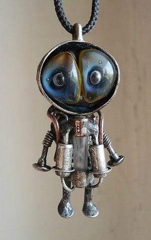 Steampunk jewelry by Aleksey Berezhnoy