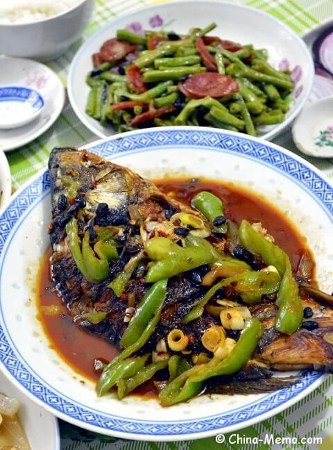 Chinese home cooking: Red Cooked Carp. #recipe #video www.china-memo.com