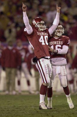 Oklahoma Sooners defeated Florida State Seminoles in the 2001 FedEx Orange Bowl: BCS National Championship Game