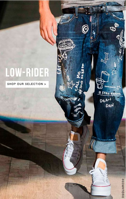 Looking for low-rise men's denim? - lvr.com