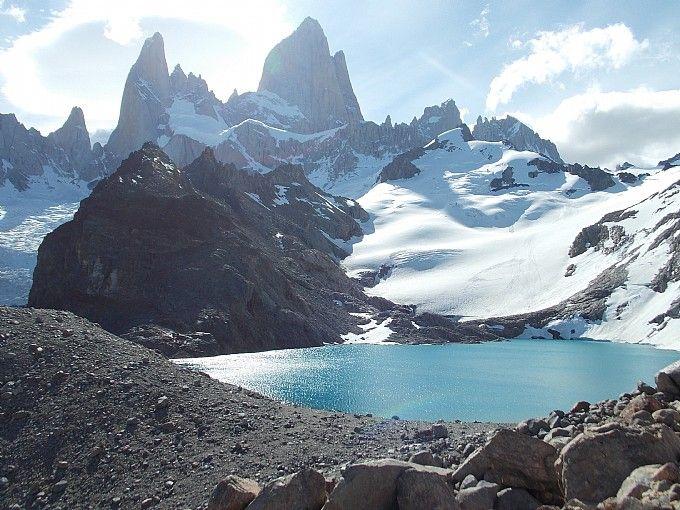 Laguna de Los Tres, El Chaltén, Patagonia Argentina