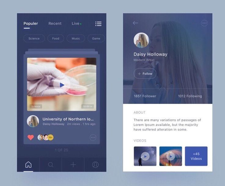 """""""Focus on the user & everything will follow""""  Video App Exploration by @masum_parvej_  - Follow us @uitrends for daily UI UX inspiration   #video #cards #exploration #ui #interface #designers #passion #ux #user #usuario #app #experience #digital #trends #tendencias #html #profile #Detalles #details #www #css #awwwards #inspiration #creative #inspira #technology #mytechlife #dark #uiux #popular"""