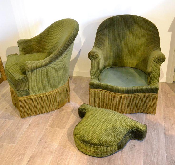 Les 25 meilleures id es concernant frange arrondie sur pinterest frange de - Restauration fauteuil crapaud ...