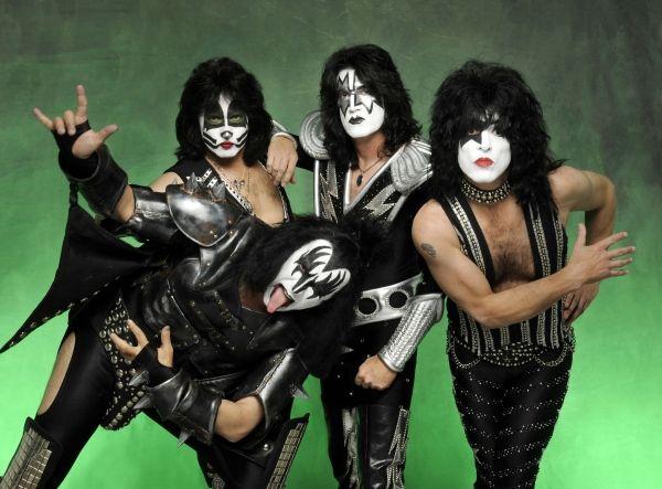 Kiss Masken Gesichter-Make Up-Ideen Halloween Kostüme schreckliche Schminke